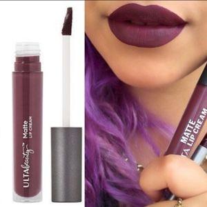 Ulta Plum Matte Cream lipstick